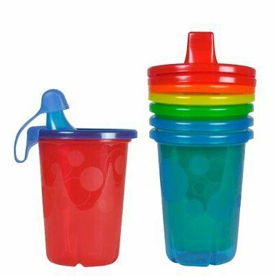 spill proof sippy cups for kids multicolor