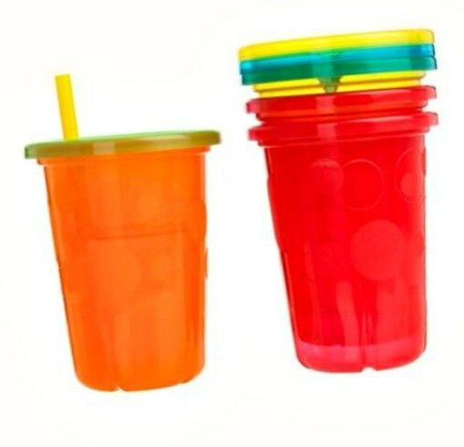 Spill Sippy Cups with Lids Toddler 10