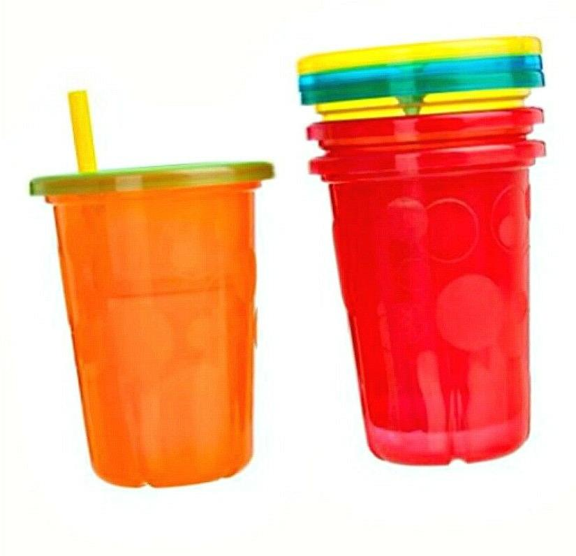 Spill Cups with Lids Toddler Kids Mugs 10 Oz