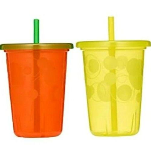 Spill Straw Cups with Toddler 10
