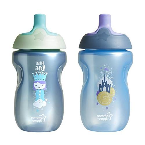 Tommee Tippee Sportee Bottle Cup, 12+ Ounces, 4 Pack