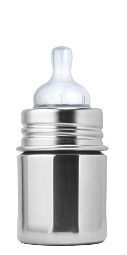 Pura Kiki Stainless Infant Bottle Stainless Steel with Natur