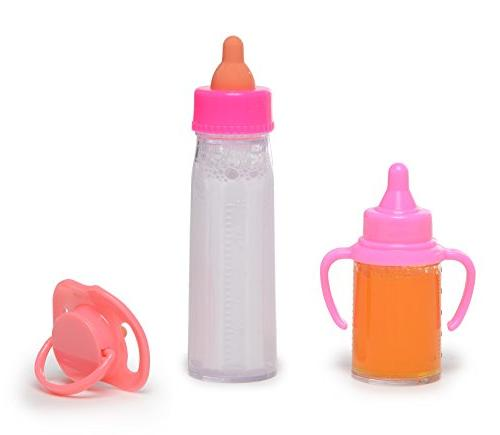 Exquisite Buggy My Sweet Magic Milk Juice Baby Doll Bottles Pacifier Set Assorted Colors