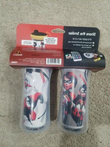 Incredibles Insulated Sippy Cup Cups