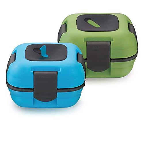 Thermal Lunch Box Container Leak Proof for Adults and Kids H