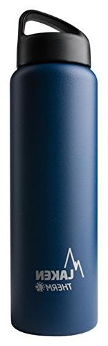 Laken Thermo Classic Vacuum Insulated Stainless Steel Water