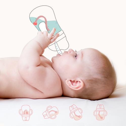Baby Cup Toddler Cup Drinking Water Bottle