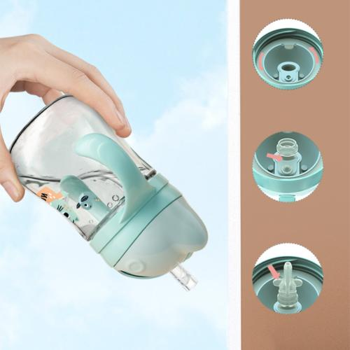 Baby Cup Feeding Cup Drinking Straw Bottle Sippy