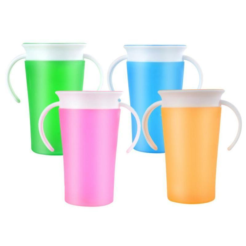 Toddler Kids Cup Leakproof Proof Cup