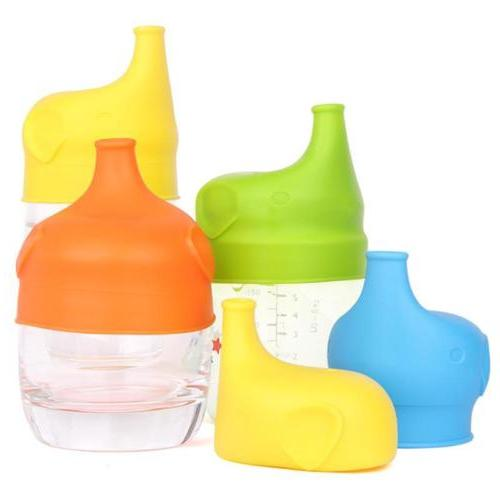 toddlers babies bpa free silicone sippy lids