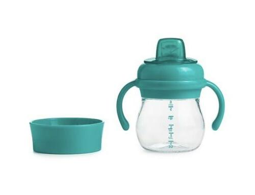 OXO Transitions Spout Sippy Cup Set in Teal