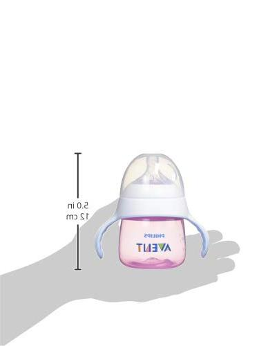 Philips Avent My Trainer Sippy SCF262/02, Pink