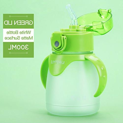 UPSTYLE TRITAN Sippy Cup BPA Free Children Learner with Straw Toddler Mini...
