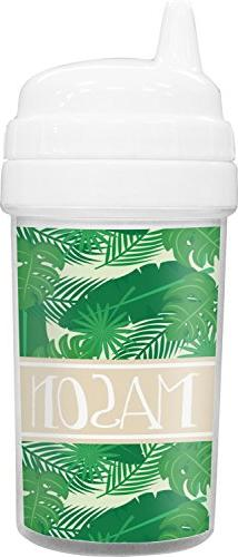 Tropical Leaves 2 Toddler Sippy Cup