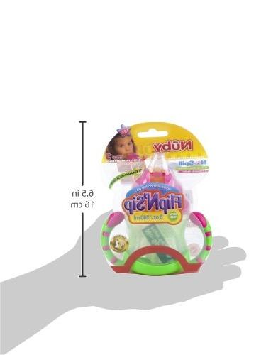 Nuby Two-Handle Sip Cup, Ounce, Green with