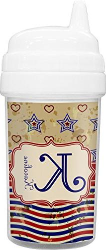 Vintage Stars & Stripes Toddler Sippy Cup