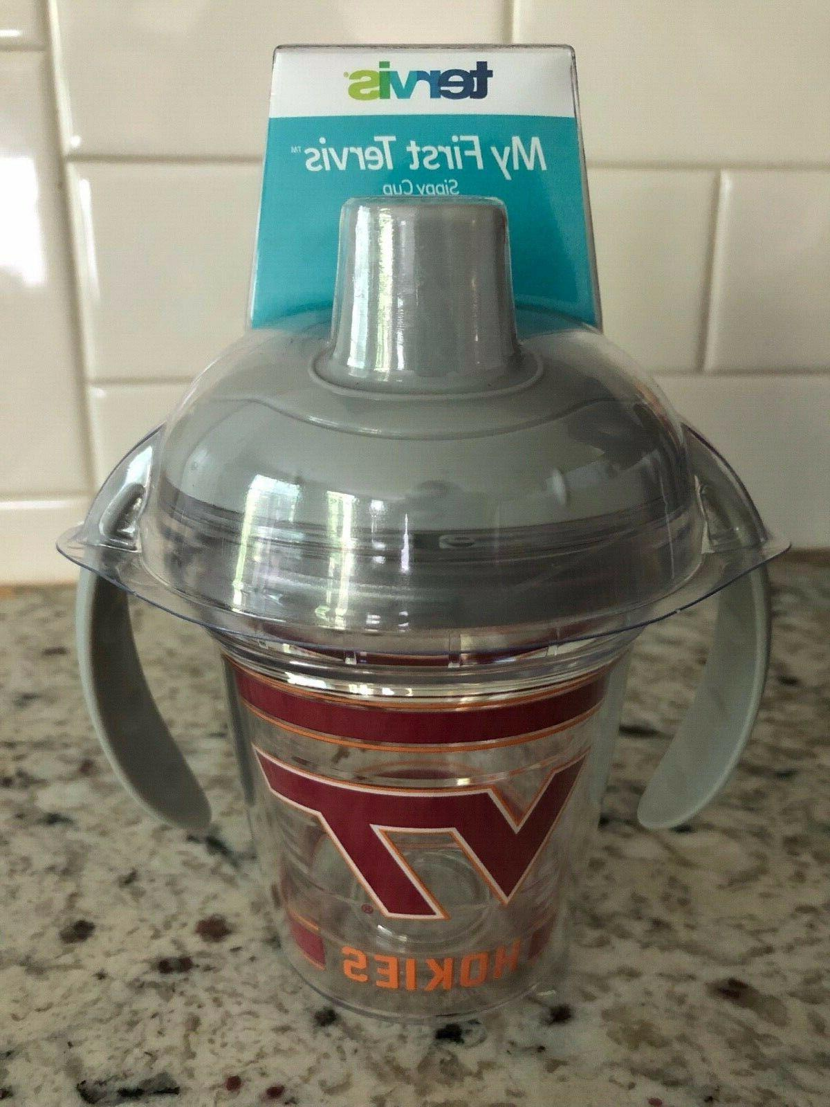 virginia tech my first sippy cup new