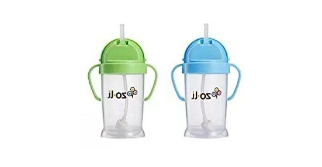 Zoli Baby Bot Sippy Cup 6 - 2 Blue/Green