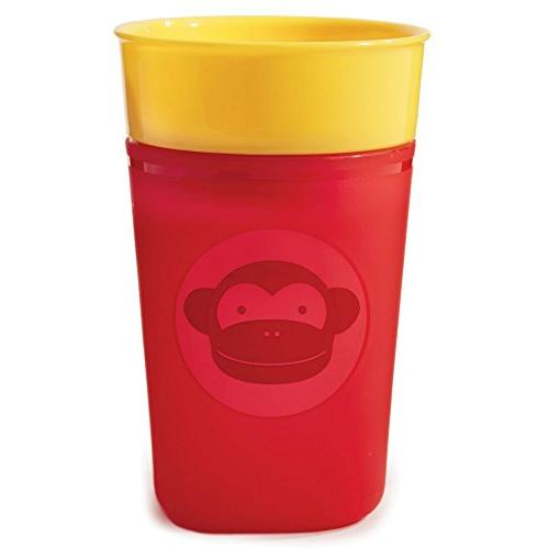 Skip Hop Zoo 9 Ounce Turn and Learn Training Cup - Monkey