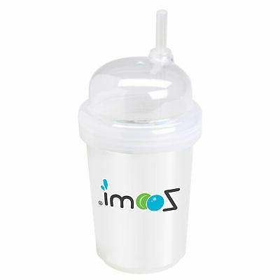 nuspin kids 8 oz Zoomi Straw Sippy Cup