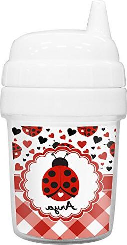 Ladybugs & Gingham Baby Sippy Cup