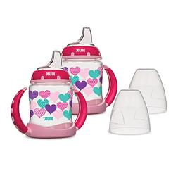 NUK Learner Sippy Cup, Hearts 5oz 2pk