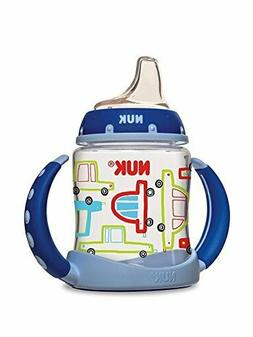 NUK Learner Sippy Cup, Cars, 5oz 1pk, New, Free Shipping