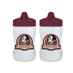 Baby Fanatic Licensed NCAA 9 Ounce Sippy Cup 2 Pack, Florida