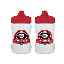Baby Fanatic Licensed NCAA 9 Ounce Sippy Cup 2 Pack, Univers