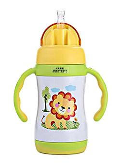 Little Lion Vacuum Insulated Stainless Steel Sippy Cup with
