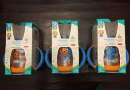 Lot of 3 NUK, Disney Baby, Learner Cup, Finding Dory Nemo, 6