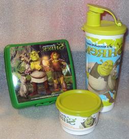 New Tupperware Lunch Set Dreamworks Shrek Sandwich Keeper, S
