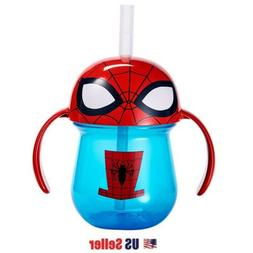 The First Years Marvel Spider Man Straw Cup with Handles, 7