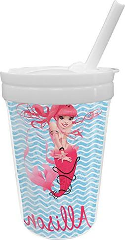 Mermaid Sippy Cup with Straw
