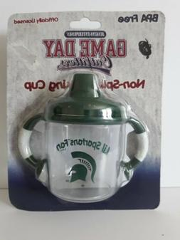 Michigan State Sippy Cups Lil' Spartans Fan Licensed BPA Fre