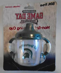 Michigan State Spartans Fan Sippy Toddler Baby Cup BPA Free