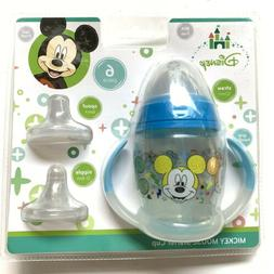 Disney Mickey Mouse 6 Piece Grow with Me Sippy Cup