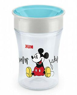 - NUK Magic Cup Disney Sippy Cup, 8+ Months, 360 Degree