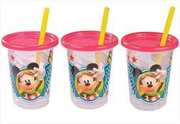 First Years Mickey Mouse Take & Toss Straw Cup, 3 Count