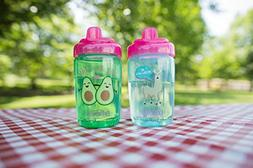 Dr. Brown's Milestones Hard Spout Sippy Cup, 12 Ounce, Pink,