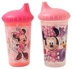 Disney Minnie Mouse Glitter 2 Piece Slim Sippy Cups, Clubhou