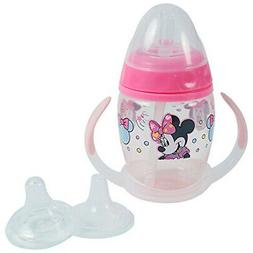 Disney Minnie Mouse 6 Piece Grow with Me Sippy Cup, Baby P