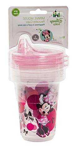 Disney Minnie Mouse 3-Piece Stackable and Reusable Cups, Pin