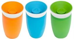 Munchkin Miracle 360 BPA Free Sippy Cup 10 ounce, 3 Count