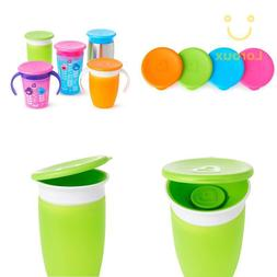 Munchkin Miracle 360 Cup Lids, 4 Count