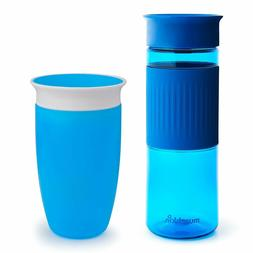 Miracle 360 Cup Parent and Kid Set, 24 and 10 Ounce, BPA fre