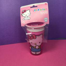 Munchkin Miracle 360 Sippy Cup Hello Kitty BPA Free 9oz. Den