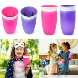 Munchkin Miracle 360 Sippy Cup, Pink/Purple, 10 Oz, 2 Count