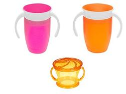 Munchkin Miracle 360 7 ounce Spoutless Cups with 5ounce Delu