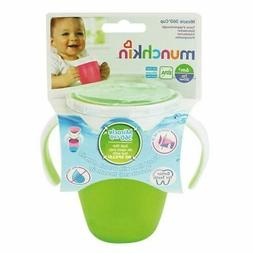Munchkin Miracle 360 Trainer Cup Green 207ml 1 2 3 6 12 Pack